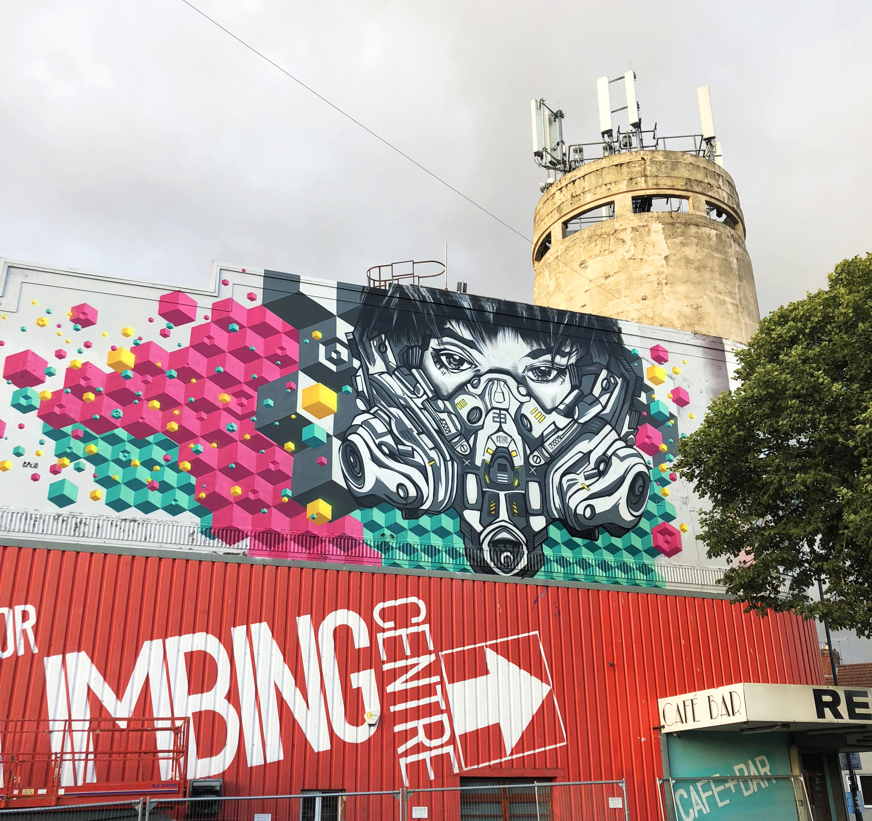 Snub23 Finished Wall at Upfest 2018